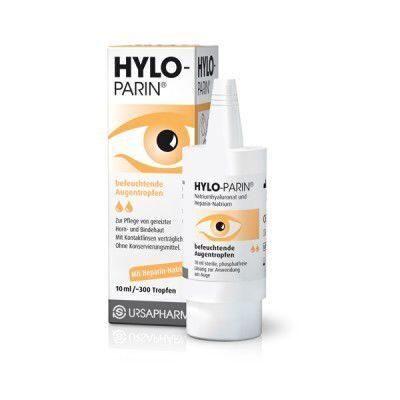 Глазные капли хилопарин инструкция по применению